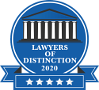Lawyer's of Distinction logo